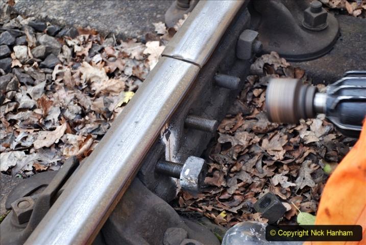 2020-01-06 Track renewal Cowpat Crossing to just beyond Dickers Crossing. (96) 096