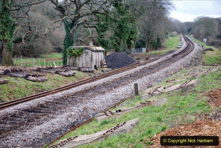 2020-01-06 Track renewal Cowpat Crossing to just beyond Dickers Crossing. (113) 113