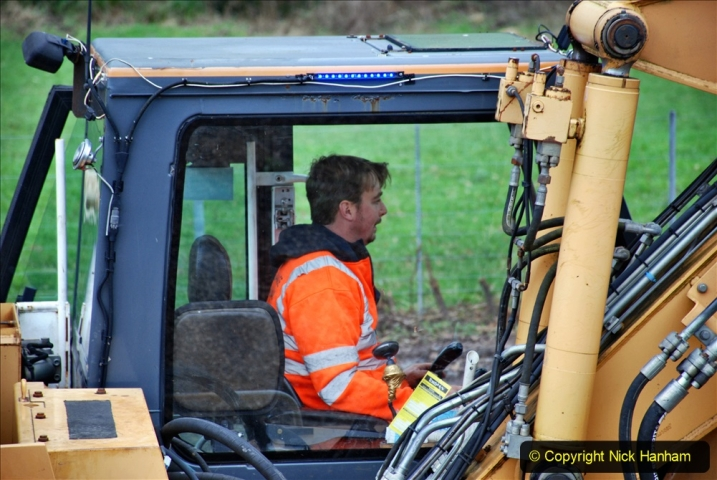 2020-01-06 Track renewal Cowpat Crossing to just beyond Dickers Crossing. (117) 117