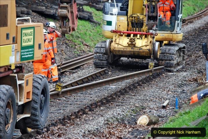 2020-01-06 Track renewal Cowpat Crossing to just beyond Dickers Crossing. (123) 123