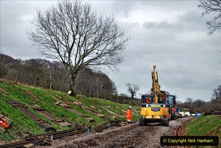 2020-01-06 Track renewal Cowpat Crossing to just beyond Dickers Crossing. (141) 141