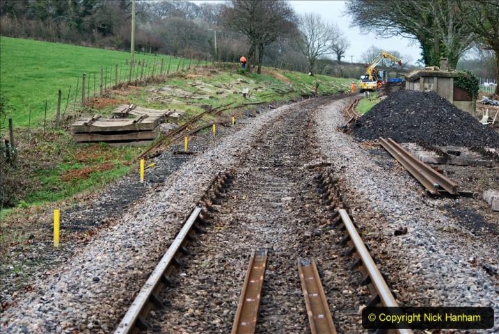 2020-01-06 Track renewal Cowpat Crossing to just beyond Dickers Crossing. (143) 143