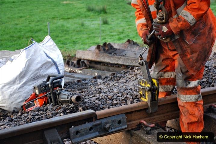 2020-01-08 Track renewal Cowpat Crossing to just beyond Dickers Crossing. (14) 014