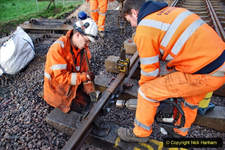 2020-01-08 Track renewal Cowpat Crossing to just beyond Dickers Crossing. (19) 019