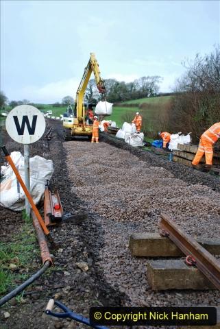 2020-01-08 Track renewal Cowpat Crossing to just beyond Dickers Crossing. (54) 054