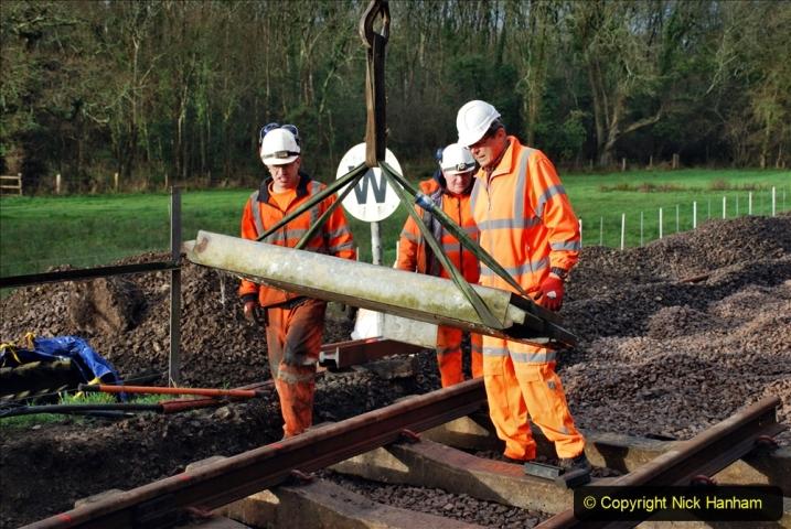 2020-01-08 Track renewal Cowpat Crossing to just beyond Dickers Crossing. (76) 076