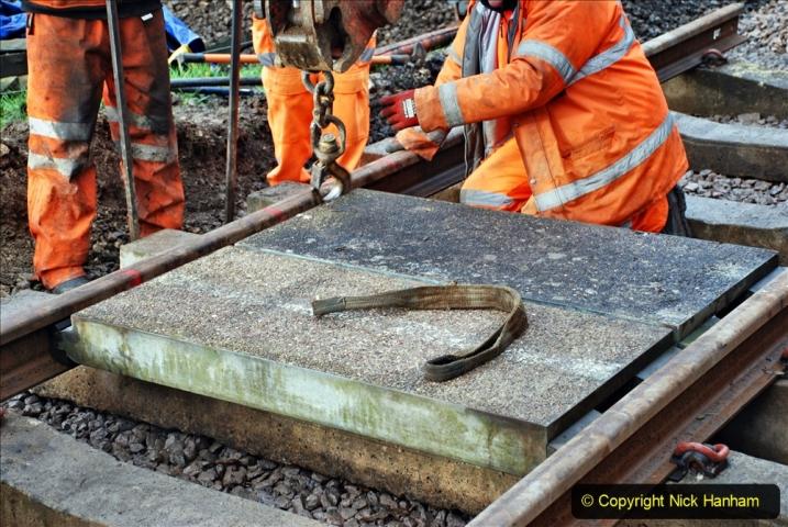 2020-01-08 Track renewal Cowpat Crossing to just beyond Dickers Crossing. (82) 082