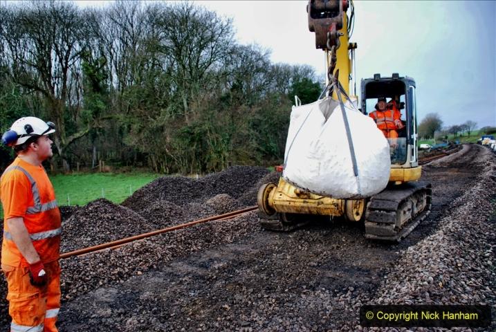 2020-01-08 Track renewal Cowpat Crossing to just beyond Dickers Crossing. (96) 096