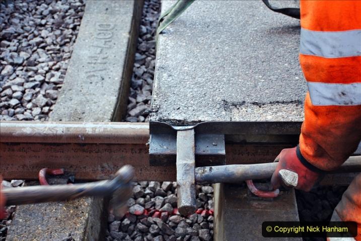 2020-01-08 Track renewal Cowpat Crossing to just beyond Dickers Crossing. (104) 104