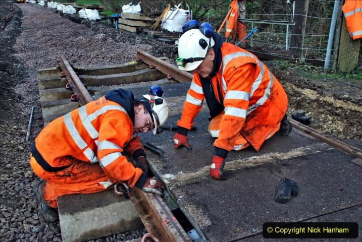 2020-01-08 Track renewal Cowpat Crossing to just beyond Dickers Crossing. (108) 108