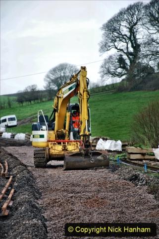 2020-01-08 Track renewal Cowpat Crossing to just beyond Dickers Crossing. (113) 113