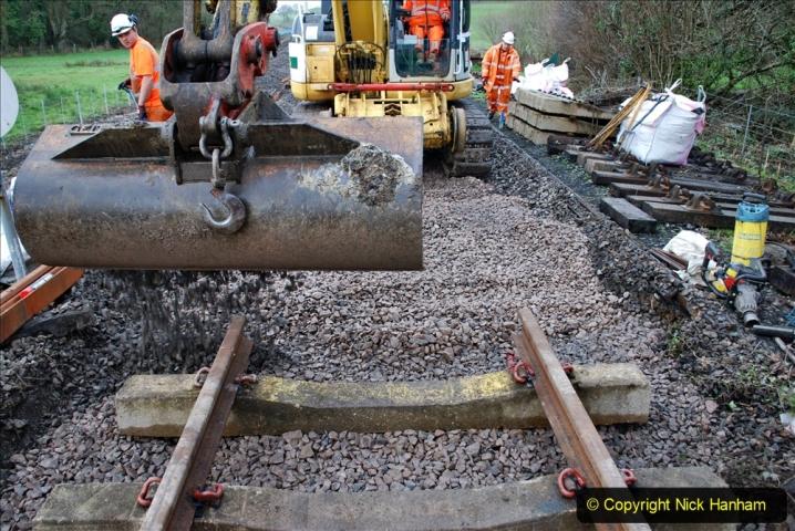 2020-01-08 Track renewal Cowpat Crossing to just beyond Dickers Crossing. (118) 118