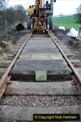 2020-01-08 Track renewal Cowpat Crossing to just beyond Dickers Crossing. (124) 124