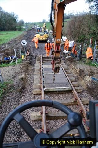 2020-01-08 Track renewal Cowpat Crossing to just beyond Dickers Crossing. (128) 128