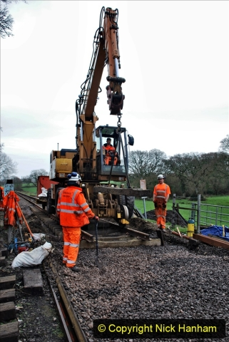 2020-01-08 Track renewal Cowpat Crossing to just beyond Dickers Crossing. (134) 134