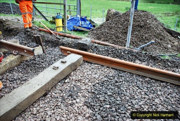 2020-01-08 Track renewal Cowpat Crossing to just beyond Dickers Crossing. (146) 146