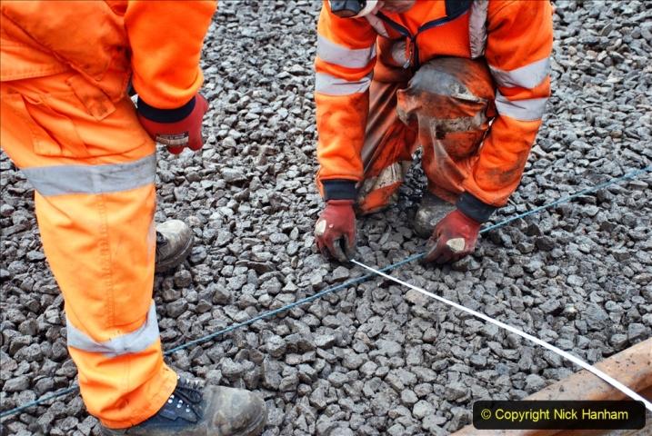 2020-01-08 Track renewal Cowpat Crossing to just beyond Dickers Crossing. (149) 149