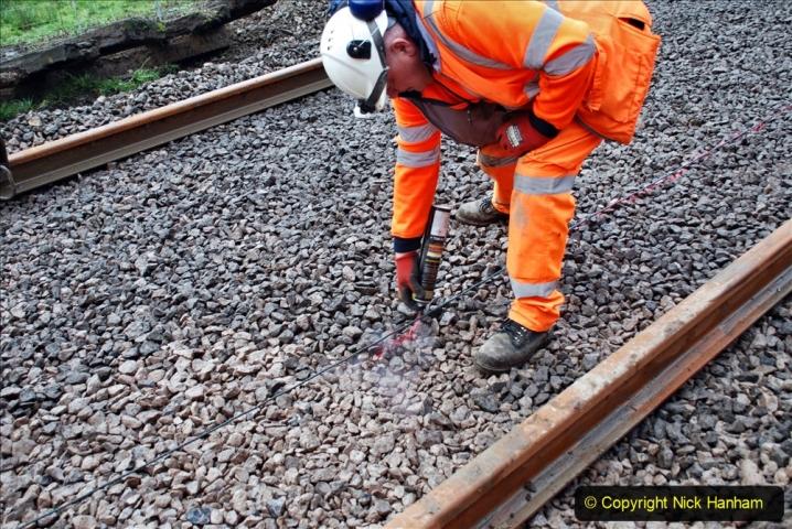 2020-01-08 Track renewal Cowpat Crossing to just beyond Dickers Crossing. (154) 154