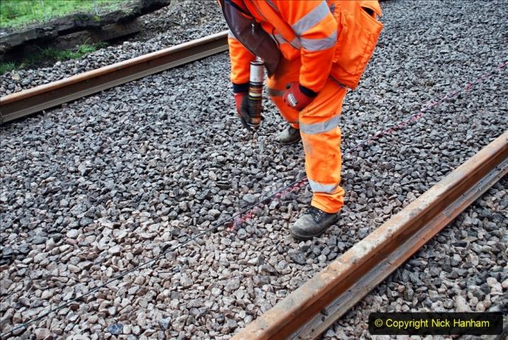 2020-01-08 Track renewal Cowpat Crossing to just beyond Dickers Crossing. (155) 155