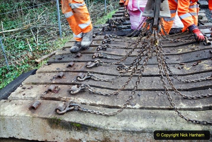 2020-01-08 Track renewal Cowpat Crossing to just beyond Dickers Crossing. (168) 168