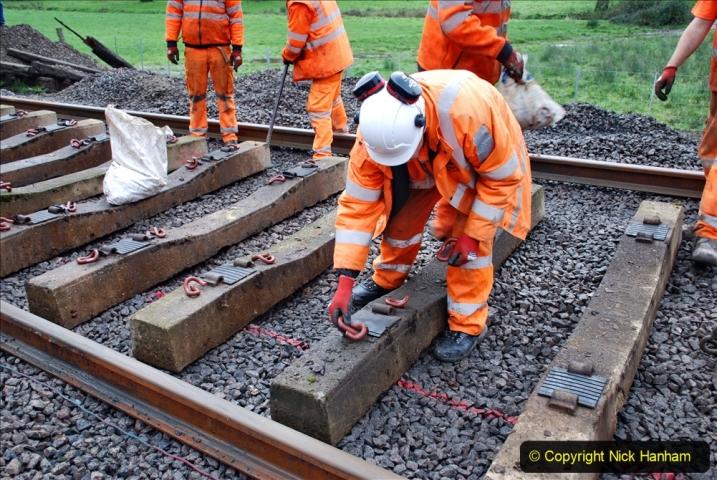 2020-01-08 Track renewal Cowpat Crossing to just beyond Dickers Crossing. (178) 178