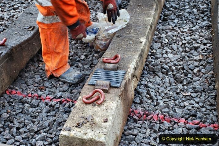 2020-01-08 Track renewal Cowpat Crossing to just beyond Dickers Crossing. (180) 180