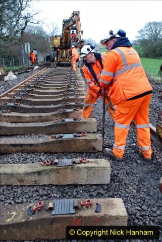 2020-01-08 Track renewal Cowpat Crossing to just beyond Dickers Crossing. (188) 188