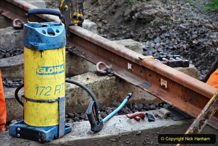 2020-01-08 Track renewal Cowpat Crossing to just beyond Dickers Crossing. (196) 196