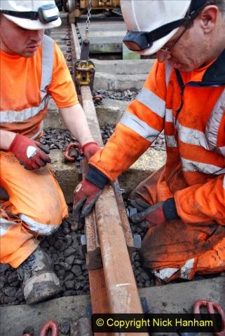 2020-01-08 Track renewal Cowpat Crossing to just beyond Dickers Crossing. (200) 200