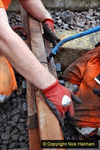2020-01-08 Track renewal Cowpat Crossing to just beyond Dickers Crossing. (201) 201
