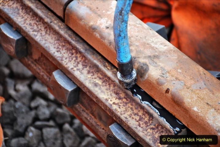 2020-01-08 Track renewal Cowpat Crossing to just beyond Dickers Crossing. (202) 202