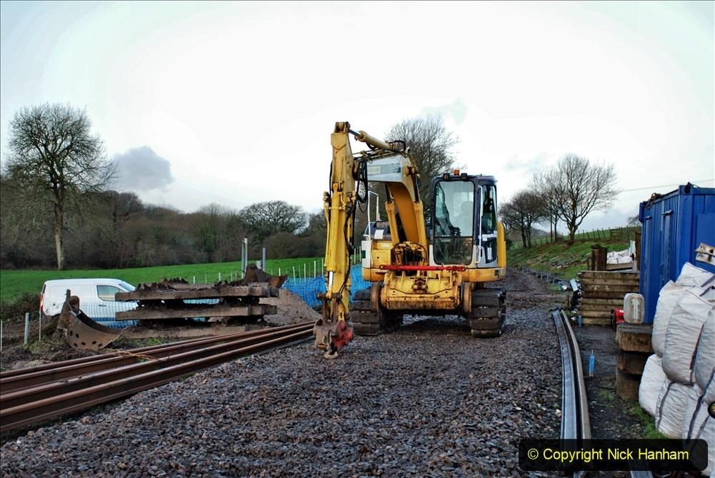 2020-01-09 Track renewal Cowpat Crossing to just beyond Dickers crossing. (4) 004