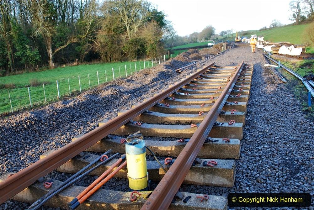 2020-01-09 Track renewal Cowpat Crossing to just beyond Dickers crossing. (5) 005