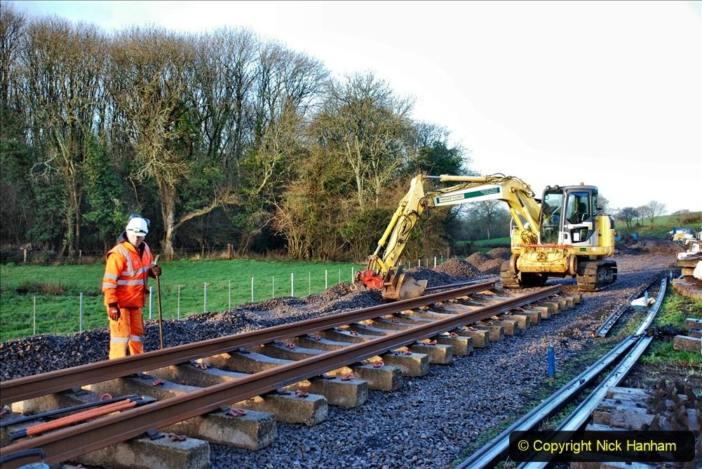 2020-01-09 Track renewal Cowpat Crossing to just beyond Dickers crossing. (7) 007