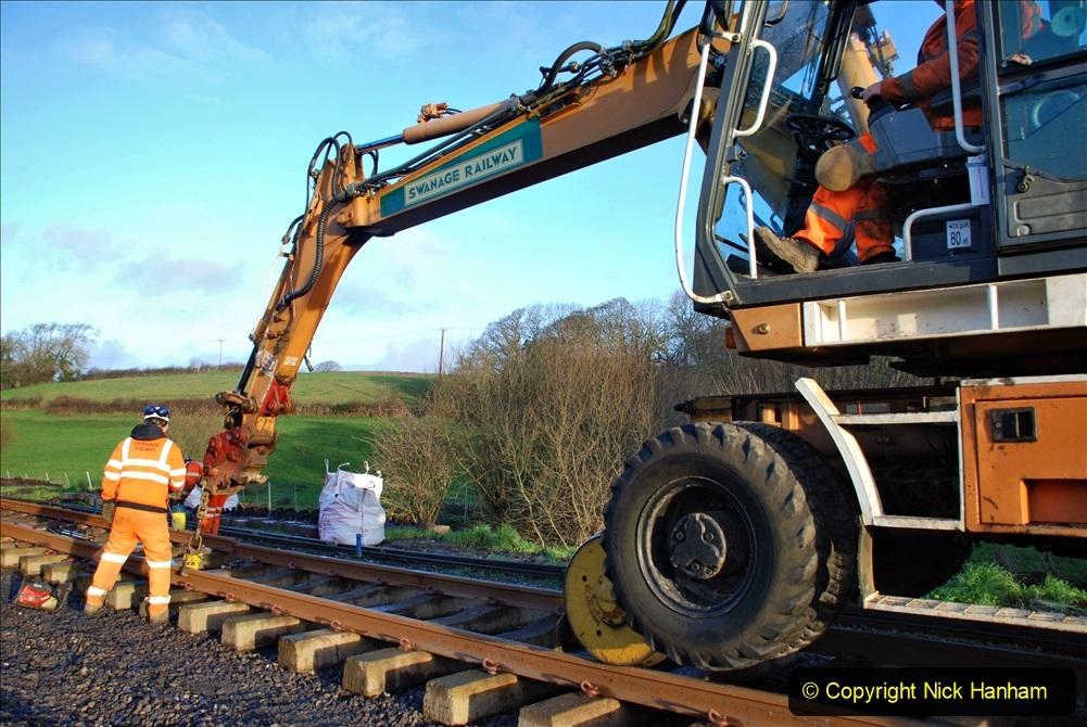 2020-01-09 Track renewal Cowpat Crossing to just beyond Dickers crossing. (8) 008