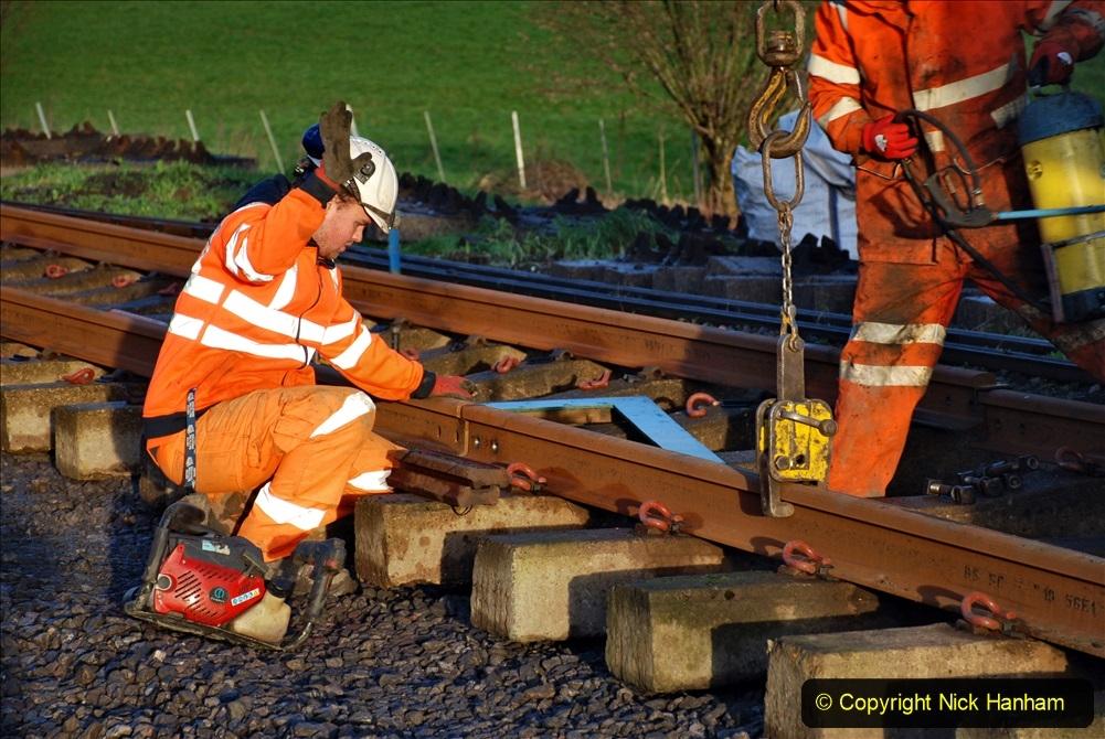 2020-01-09 Track renewal Cowpat Crossing to just beyond Dickers crossing. (9) 009
