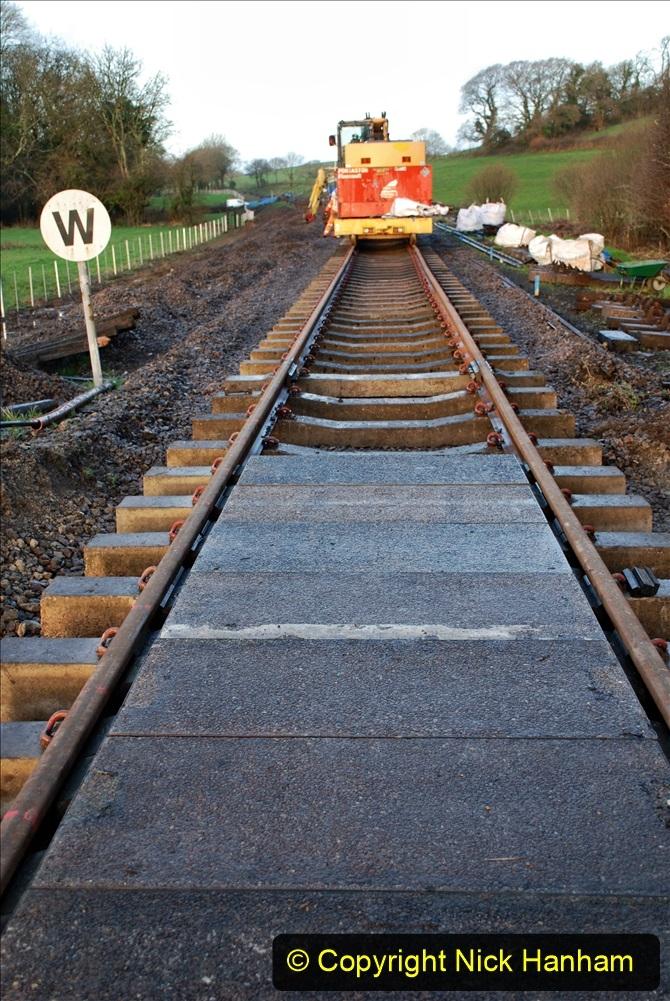 2020-01-09 Track renewal Cowpat Crossing to just beyond Dickers crossing. (10) 010