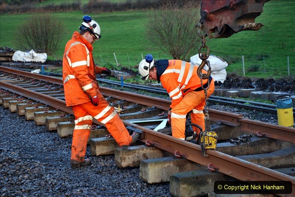 2020-01-09 Track renewal Cowpat Crossing to just beyond Dickers crossing. (11) 011