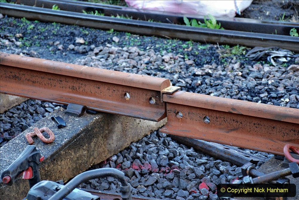 2020-01-09 Track renewal Cowpat Crossing to just beyond Dickers crossing. (12) 012