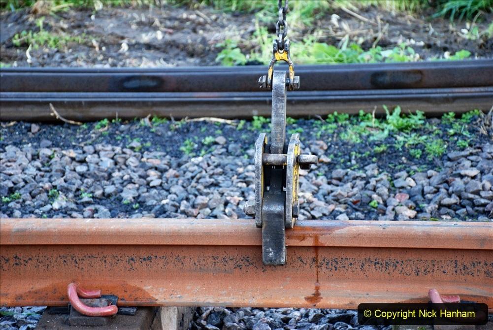 2020-01-09 Track renewal Cowpat Crossing to just beyond Dickers crossing. (13) 013