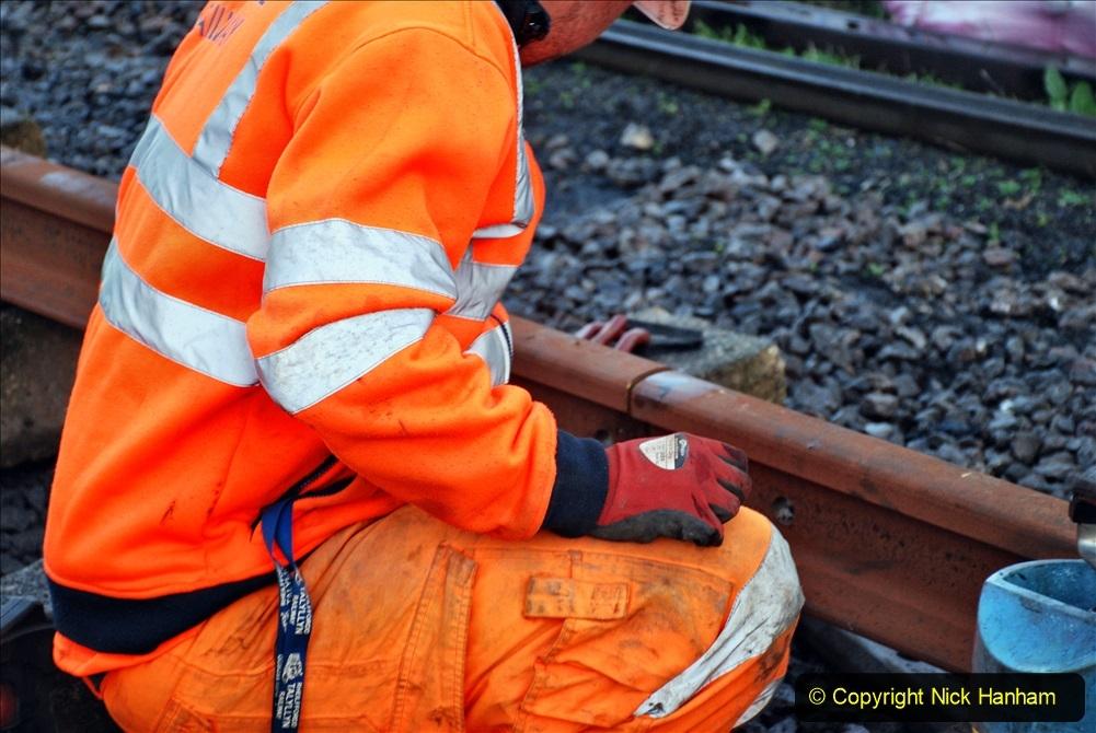 2020-01-09 Track renewal Cowpat Crossing to just beyond Dickers crossing. (14) 014