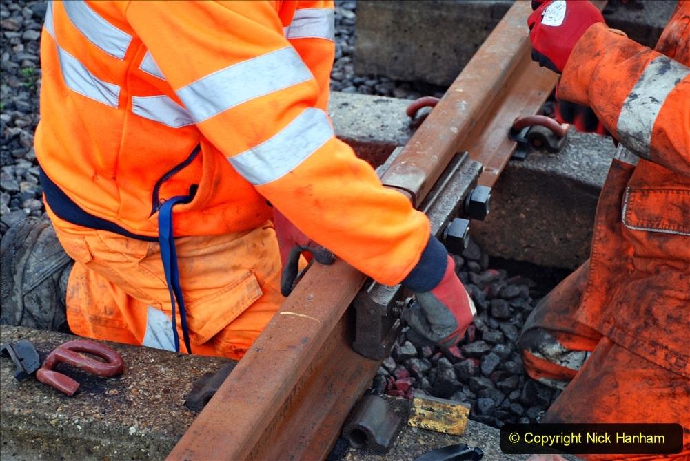 2020-01-09 Track renewal Cowpat Crossing to just beyond Dickers crossing. (16) 016