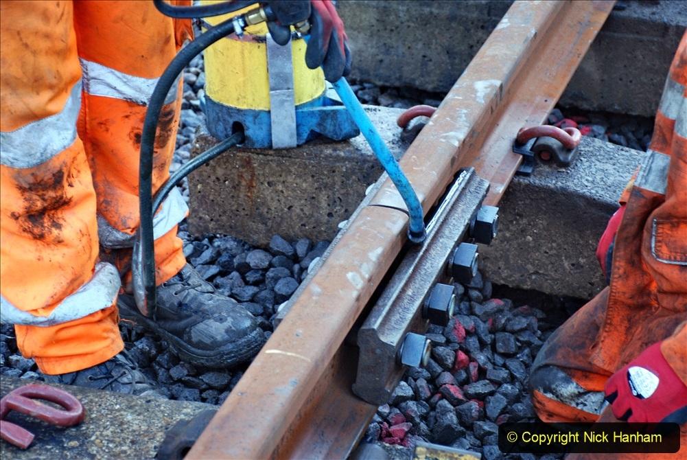 2020-01-09 Track renewal Cowpat Crossing to just beyond Dickers crossing. (17) 017