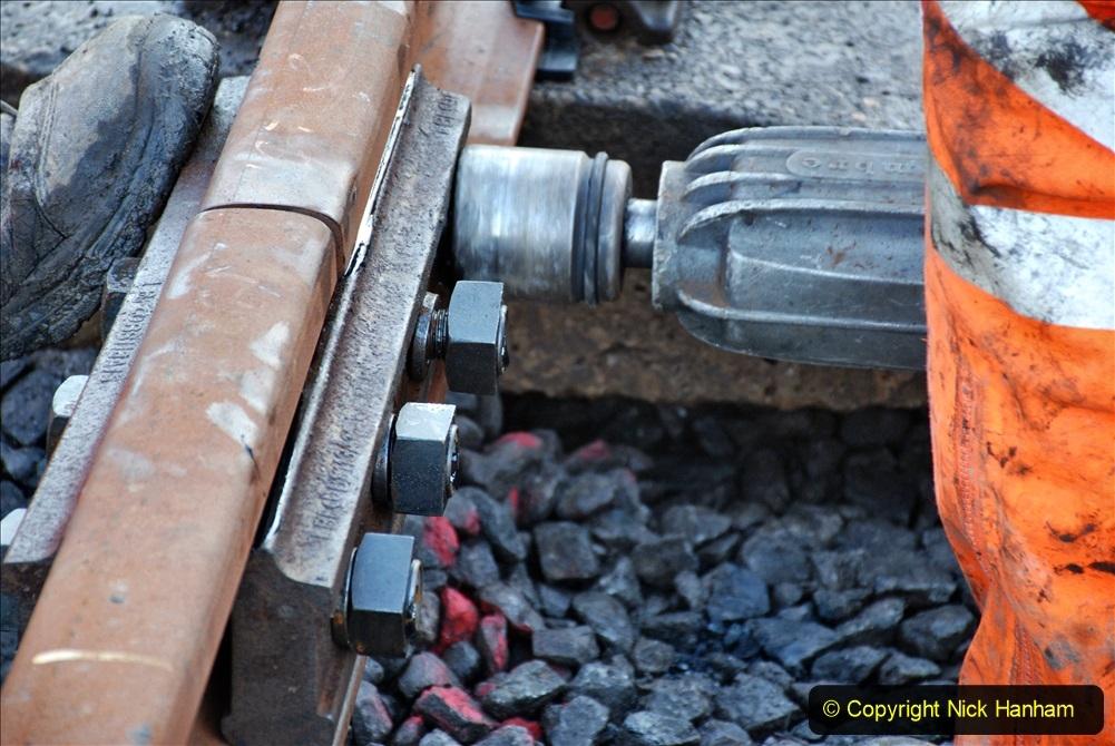 2020-01-09 Track renewal Cowpat Crossing to just beyond Dickers crossing. (18) 018