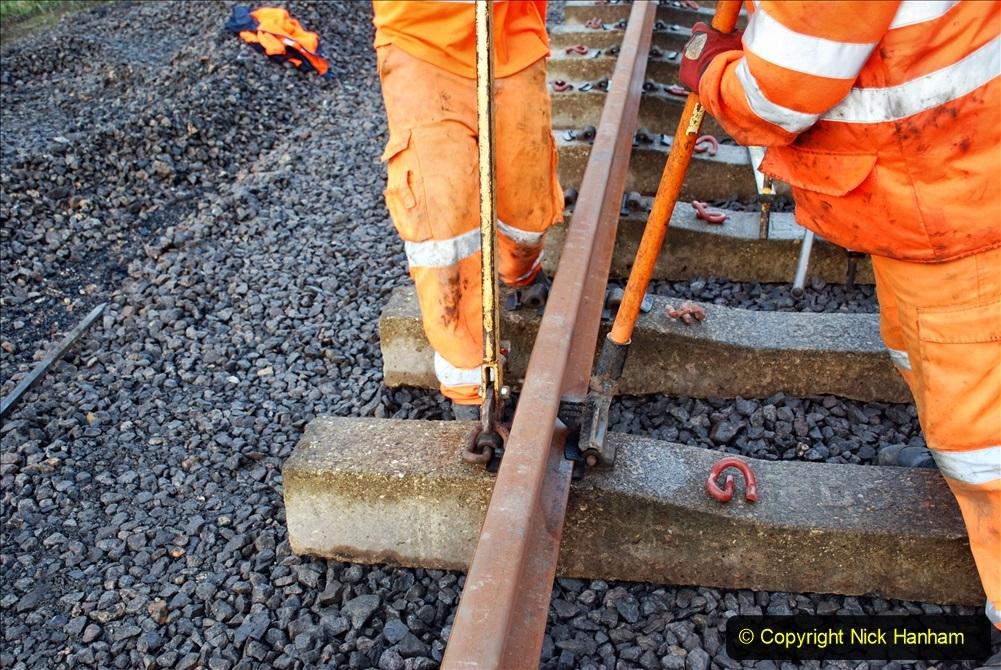 2020-01-09 Track renewal Cowpat Crossing to just beyond Dickers crossing. (22) 022