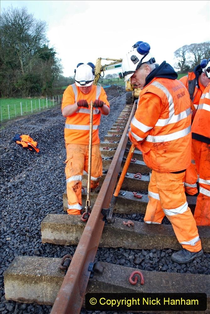 2020-01-09 Track renewal Cowpat Crossing to just beyond Dickers crossing. (23) 023