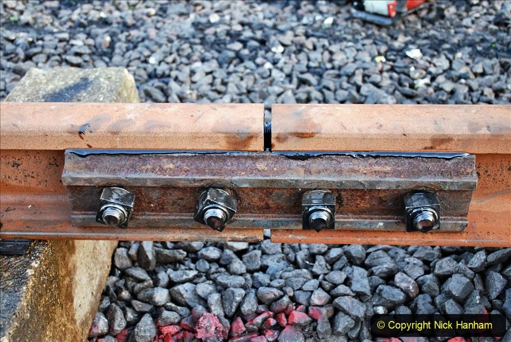 2020-01-09 Track renewal Cowpat Crossing to just beyond Dickers crossing. (24) 024