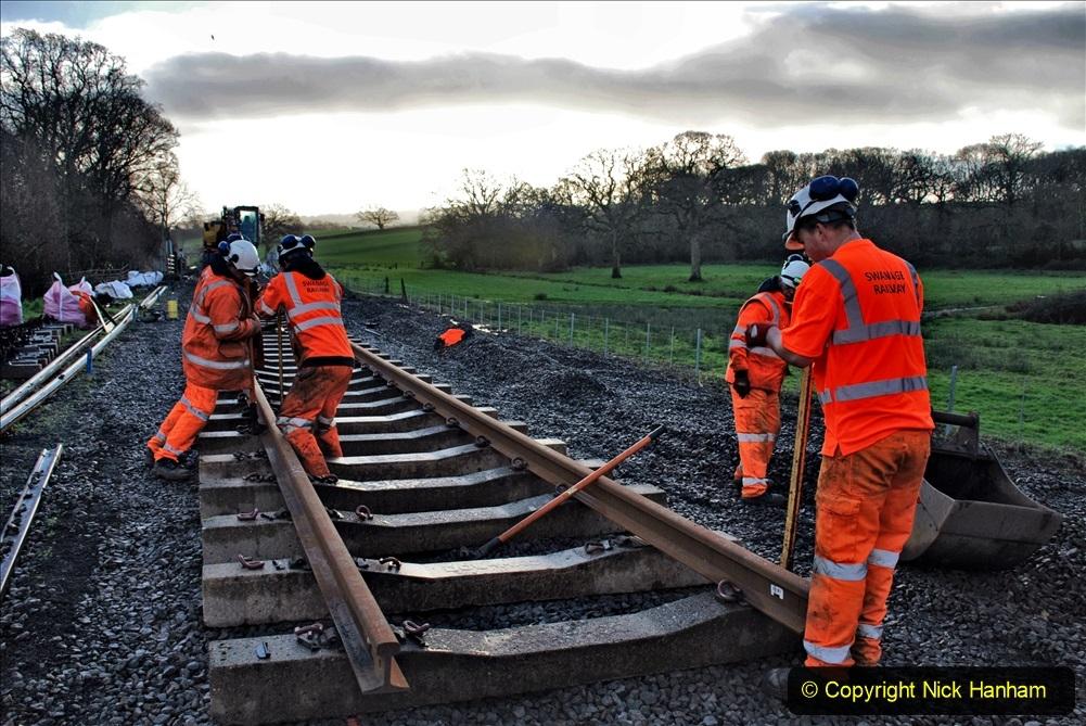 2020-01-09 Track renewal Cowpat Crossing to just beyond Dickers crossing. (26) 026