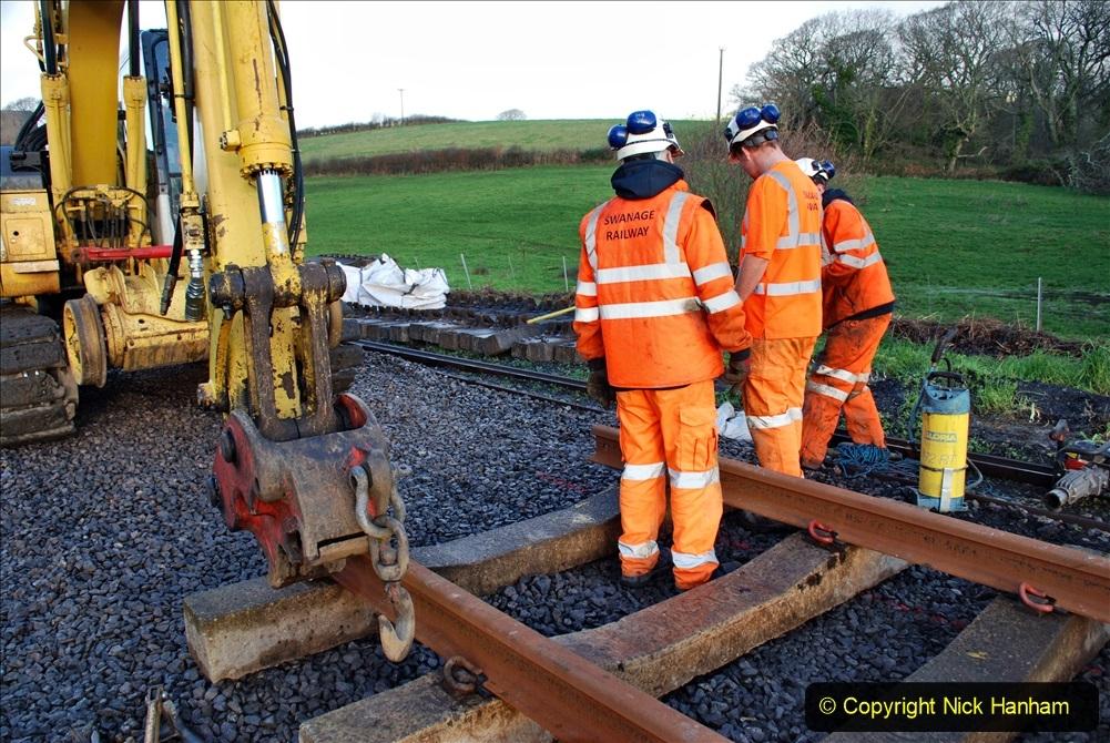 2020-01-09 Track renewal Cowpat Crossing to just beyond Dickers crossing. (27) 027
