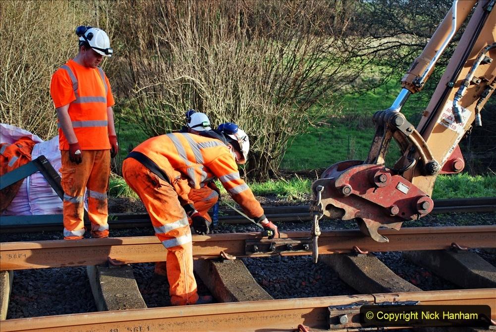 2020-01-09 Track renewal Cowpat Crossing to just beyond Dickers crossing. (31) 031